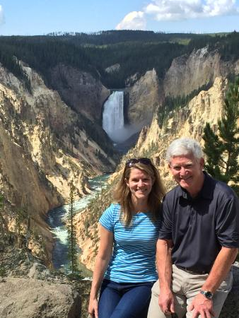 Ana's Grand Excursions: Upper Falls on Yellowstone River