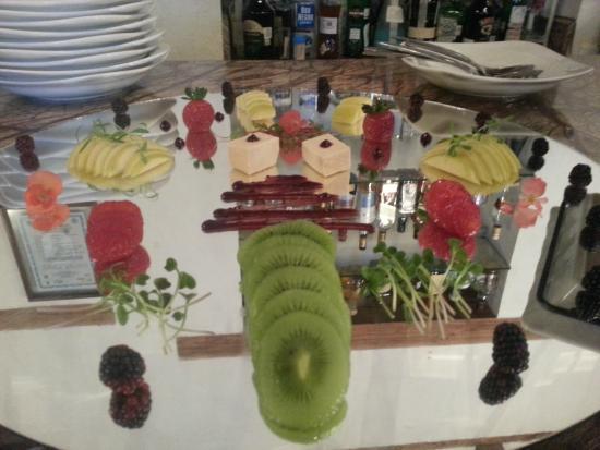 Restaurante El Secreto: Fruit & Cheese