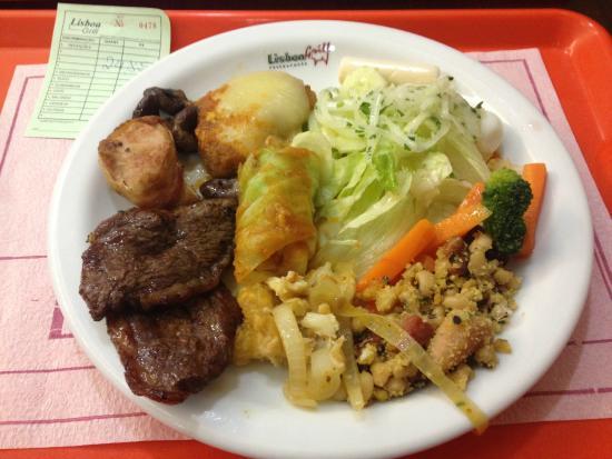 Lisboa Grill: prato