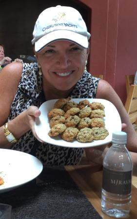 Miraval Arizona Resort & Spa: Miraval Spa - famous banana chocolate chip cookies, baked just for me!