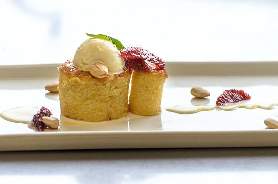 Iron Bridge Wine Company: Olive Oil Cake