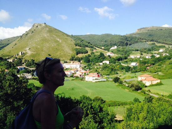 Castro Urdiales, Španělsko: Viendo el paisaje
