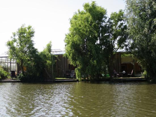 Lutjebroek, Holland: Vanaf het water