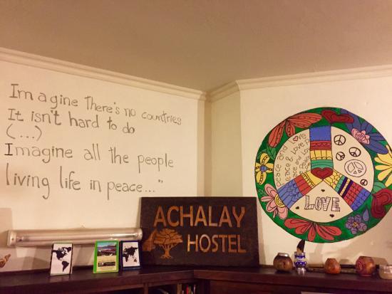Hostel Achalay: Good vibrations!