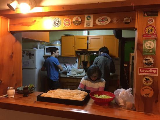 Hostel Achalay: Con cheffs incluidos!