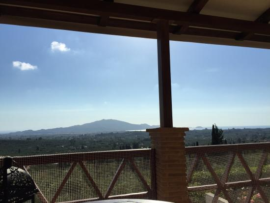 Mouzaki, กรีซ: the view from the villa
