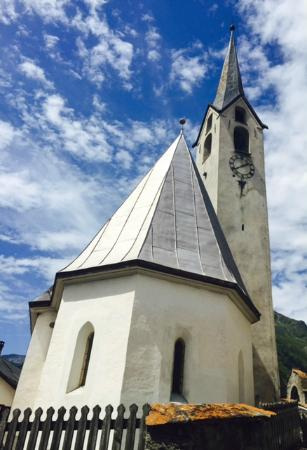 Guarda, Swiss: Church Steeple