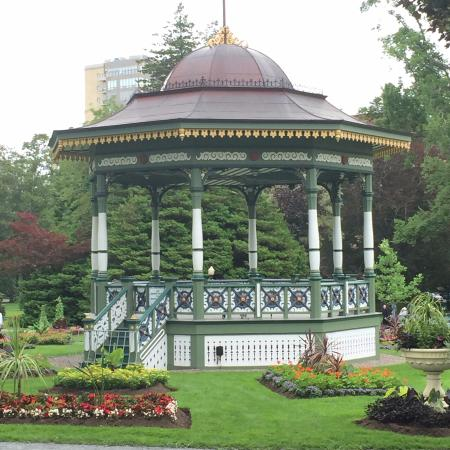 Gazebo at the Halifax Public gardens Picture of Halifax Public