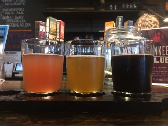 Newburyport Brewing Company: Flight