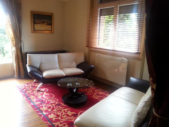 Villa Danieli : la chambre coté salon