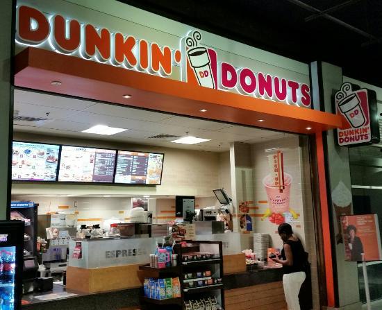 Dunkin Donuts Cnn Food Court Location