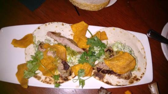 32 East: Veal Tacos