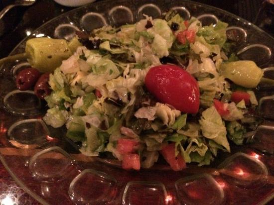 Grotto: Delicious salad