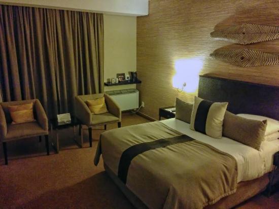 Paxton Hotel: La stanza dell'albergo