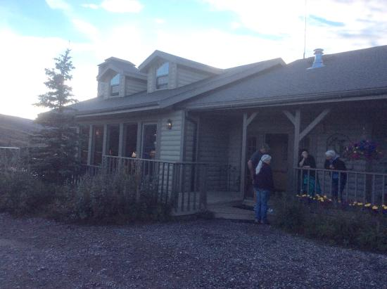 North Face Lodge: Cozy lodge