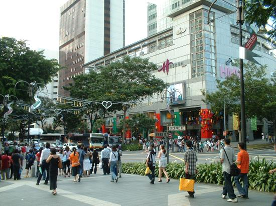 Orchard Road, Singapura: Retail and entertainment hub in Singapore