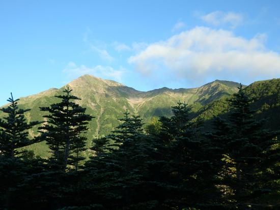 Oshika-mura, Giappone: 赤石小屋からの赤石岳