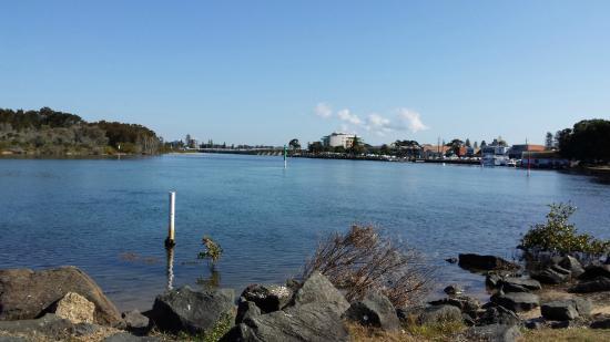 Forster Holiday Village: river