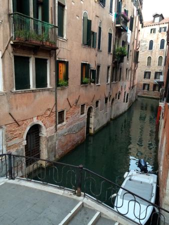 Hotel Bella Venezia: View from room 109 window