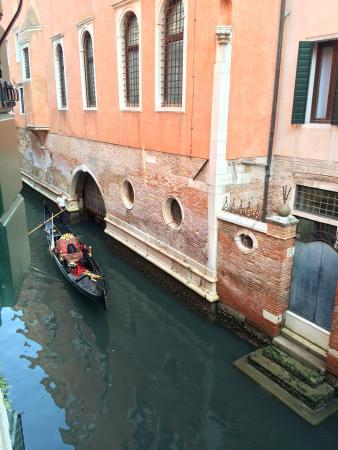 Hotel Bella Venezia: View from room 109 window