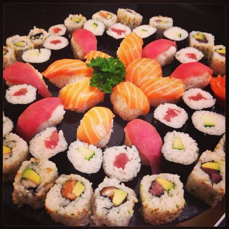 La Perle Noire: Assortiment sushi.