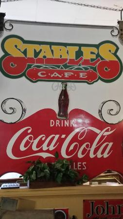 Stables Cafe : Very interesting place with a lot of history, friendly staff and very good food