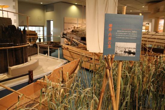 Lake Biwa Museum: 展示の一例