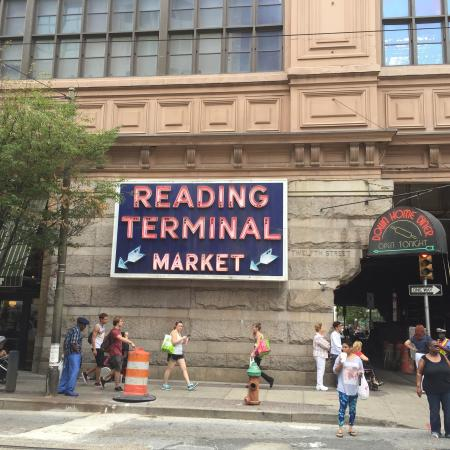 My venture picture of reading terminal market for Aashiyana indian cuisine reading pa