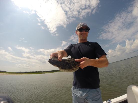Edisto beach redfish picture of charleston fishing for Charleston fishing com