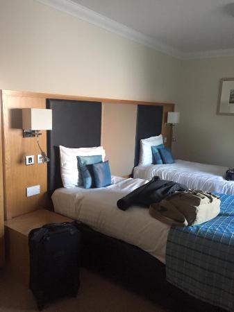 Wildings Hotel & Restaurant: twin beds