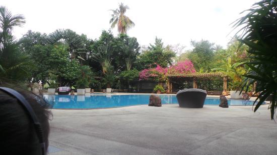 Aek-Pailin River Kwai Hotel: Beautiful Pool