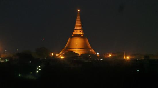 View At Night From The Hotel Balcony Picture Of Kamonthara