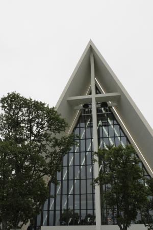 Ishavskatedralen: De voorkant