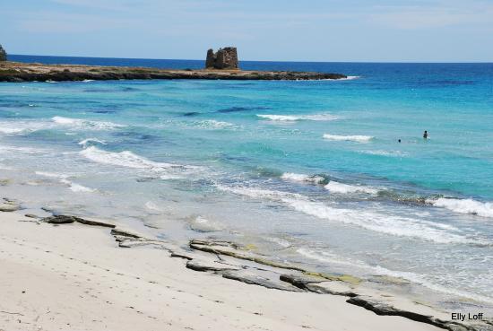 Merine Apulia, İtalya: Апулия. пляжи полуострова Саленто
