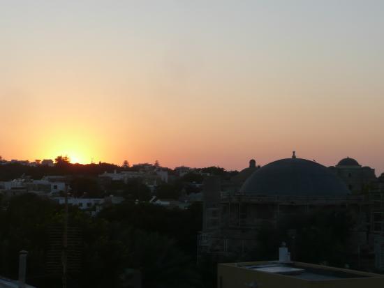 Hotel Andreas: vue de la terrasse de l'hôtel