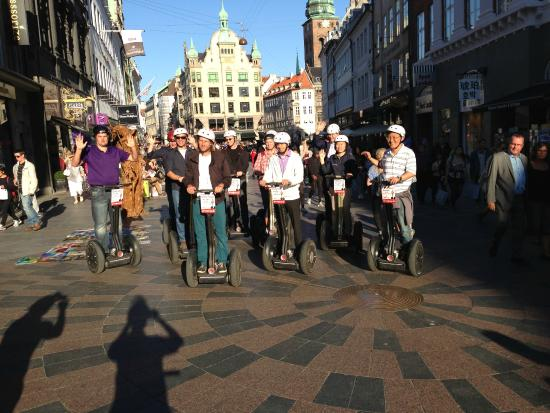 Go-Segway : Visiting the fantastic Copenhagen august 2015