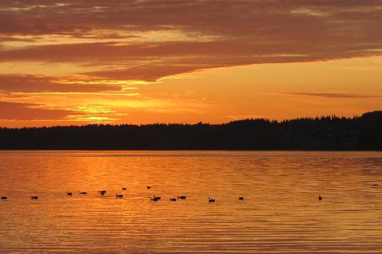 Blaine, Ουάσιγκτον: Beautiful sunset.