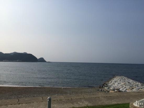 Yukaro Showa: ホテルから見える海