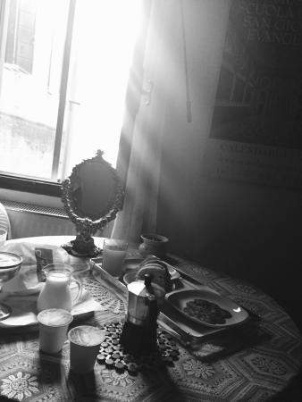 Lovely  breakfast in Venice!