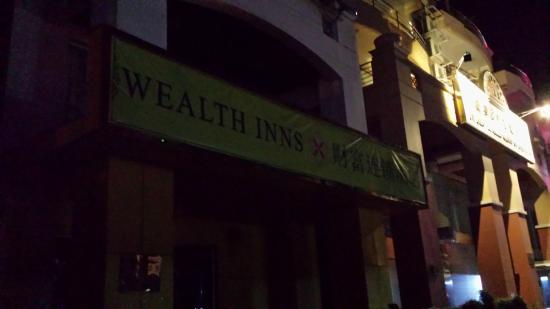 Wealthinns U Chit Mg Hotel : Hotel blackout on the last night