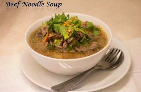 Delicious Hearty Noodle Soups Picture Of Thai Kitchen Bolton Tripadvisor