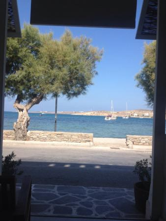 Hotel Paros: View from the hotel
