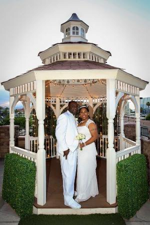In front of the vegas wedding chapel the terrace gazebo for Terrace gazebo