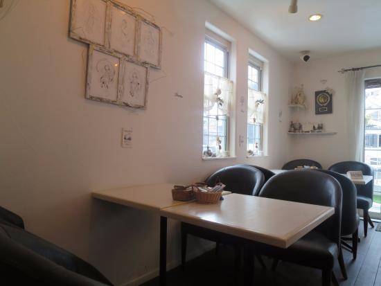 Cafe La Vue Blanche: 店内