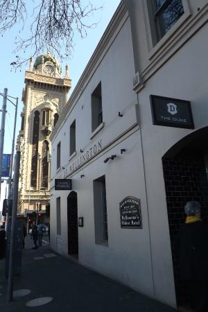 flinders street frontage picture of the duke melbourne. Black Bedroom Furniture Sets. Home Design Ideas