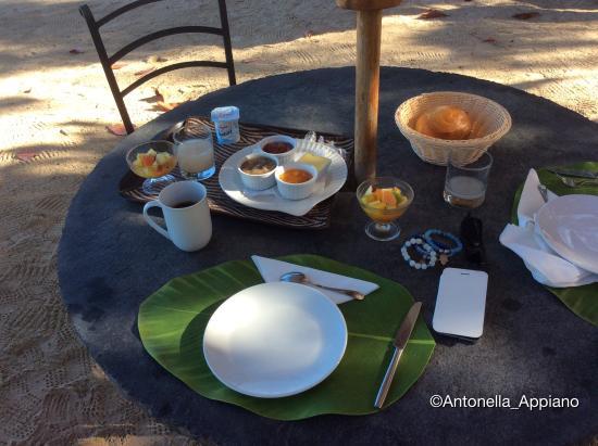 Les Lataniers Bleus: Breakfast