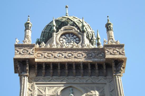 Forum Melbourne: Minarets and clock tower