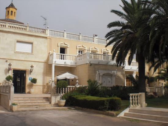 Hotel Las Navas: Entrada