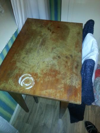 Auberge des Deux Rivieres: table