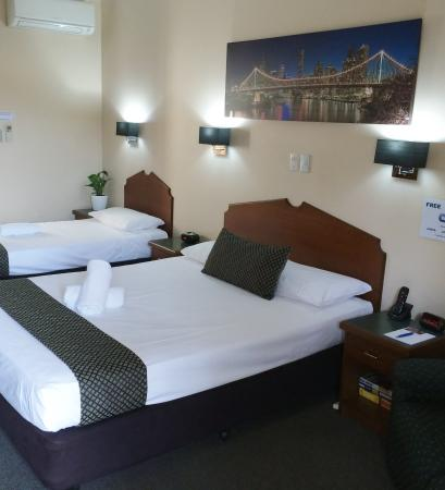 Airport Clayfield Motel : Twin Room view